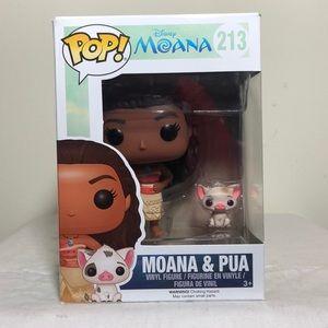 Funko POP! Moana & Pua